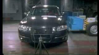 Краш-тест Audi A6 от EuroNCAP. Боковой удар