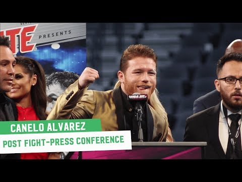 Canelo Alvarez Post-Fight Press Conference || Canelo Vs. GGG 2