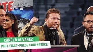 Canelo Alvarez Post-Fight Press Conference || Canelo vs. GGG 2