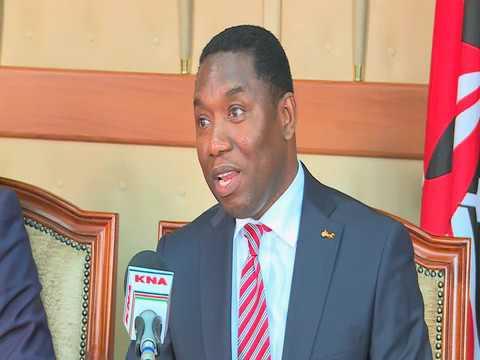 Hon Dan Kazungu CS, Ministry of Mining