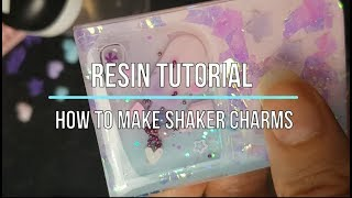Shaker Tutorial | How To Make Resin Shaker Charms | Seriously Creative