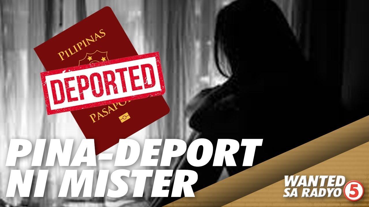 Download OFW na misis, pinadeport ng sariling mister