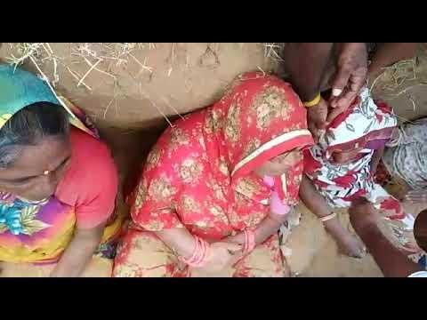 निंदड समाधी में दबी महिला बेहोश..land acquisition protest in jaipur