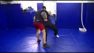 Проход в ноги со стойки (Вольная борьба). freestyle wrestling training
