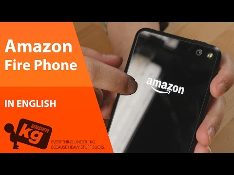 [EN] Amazon Fire Phone Unboxing [4K]