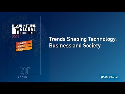Trends Shaping Technology, Business and Society