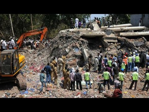 Thane building collapse : 11 dead, several injured
