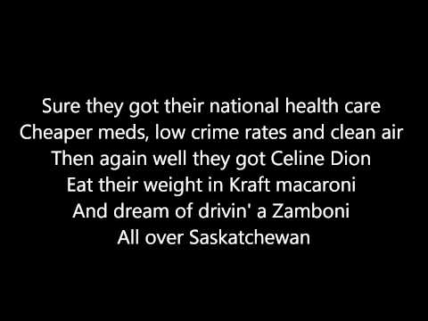 """Weird Al"" Yankovic - Canadian Idiot w/ Lyrics"