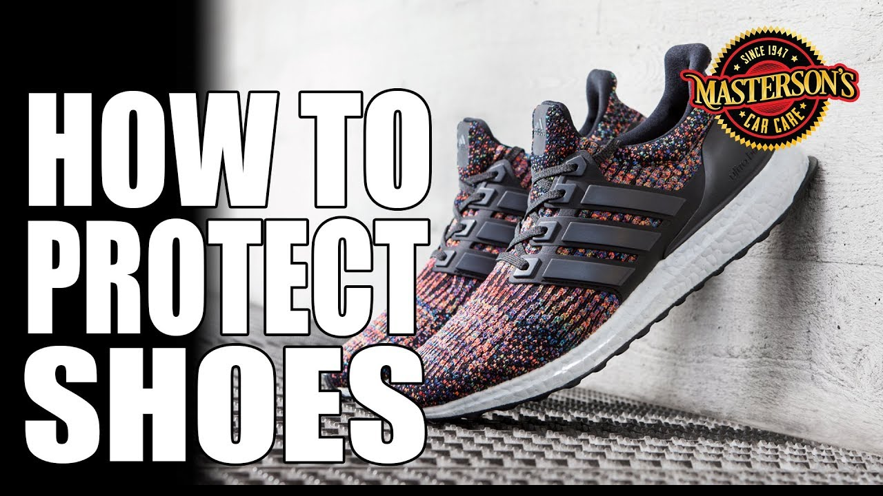 00ae86f6814 How To Protect Your Shoes - ADIDAS Ultra Boost - Masterson s Fabric  Protectant