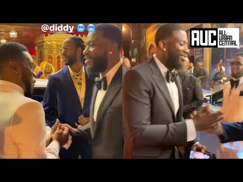 Gucci Mane Runs Into P Diddy At QC CEO Pierre Birthday Party