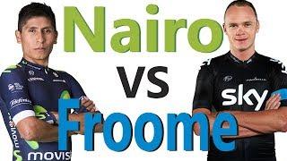 Los 3 mejores ataques de Nairo Quintana A Froome
