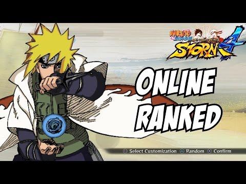 Naruto ultimate ninja storm 4 Minato online ranked matches