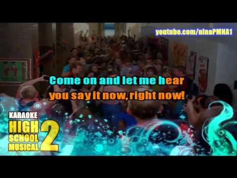 KARAOKE What Time is it? - High School Musical 2