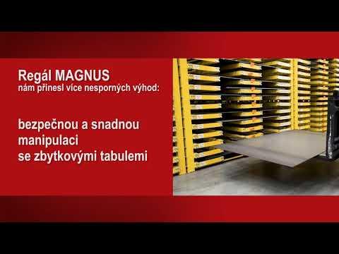 MAGNUS – regál pro skladování zbytkových tabulí