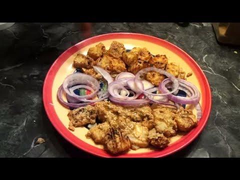 Afghani Malai Fish Tikka Without A Tandoor