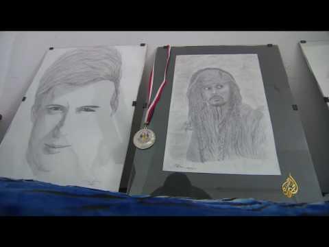 هذا الصباح- شاب تونسي يبدع في الرسم