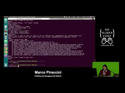 Profiling and debugging with NodeJS - Marco Piraccini