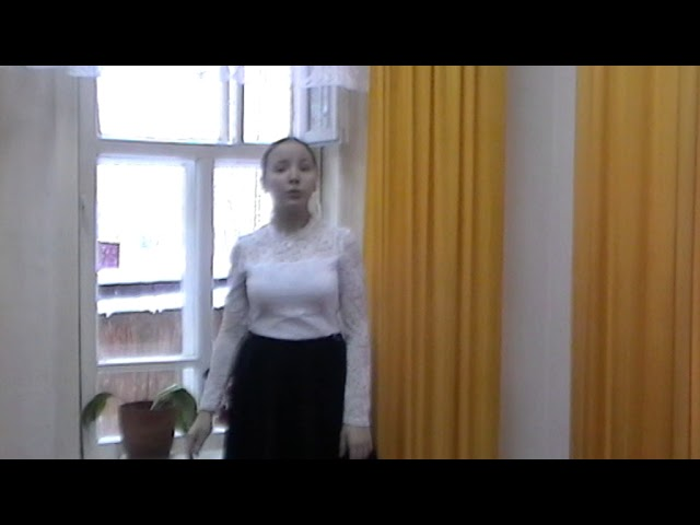 Изображение предпросмотра прочтения – ТатьянаНизамова читает произведение «Домики старой Москвы» М.И.Цветаевой