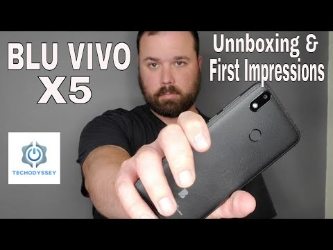 BLU VIVO X5 Unboxing and First Impressions - $79 Unlocked Budget Phone
