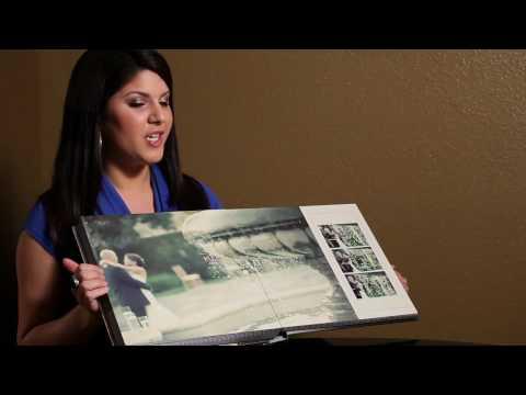 Wedding Album Design - Magazine Style Flush Mount Wedding Albums