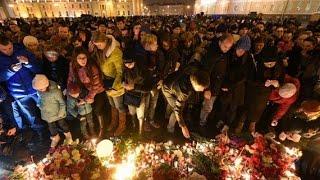 Смотреть видео Трагедия в Санкт-Петербурге онлайн
