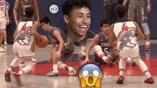 Julian Newman INSANE ANKLE BREAKER VS IMG!! GAME GETS HEATED!