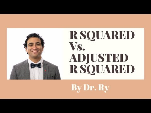 Adjusted R Squared Vs. R Squared For Beginners | By Dr. Ry @Stemplicity