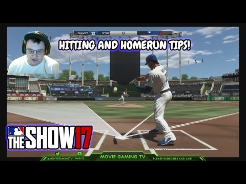 Best Hitting and Home Run Tips MLB The Show 17 Tutorial