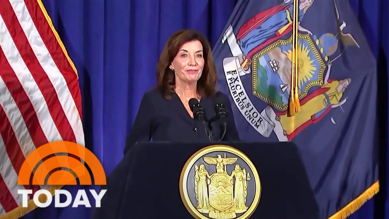 New York Gov. Kathy Hochul Discusses What It Will Take To Move ...