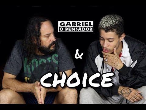 Gabriel o Pensador - bate-papo (rimado) com o rapper Choice / Parte 1