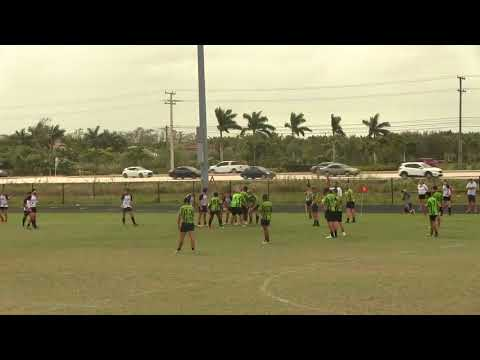 Okapi Wanderers Rugby FC U19 vs Wellington Wizards U19  01 27 2018 at Emerald Cove Middle School.