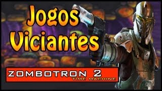 O JOGO MAIS VICIANTE DA INTERNET ZOMBOTRON 2 TIME MACHINE