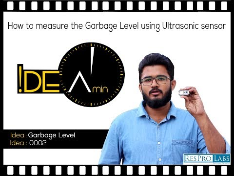 Lets monitor garbage level efficiently | Idea:0002 | Idea in a Minute