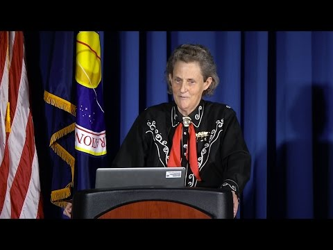 Dr. Temple Grandin - Helping Different Kinds of Minds Solve Problems