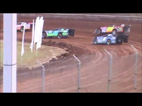 Late Model Heat 1 Langlade County Speedway 10/20/12