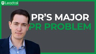 PR's Big PR Problem | Ed Zitron, Founder EZPR