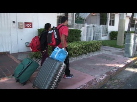 Miami Beach residents begin heading home after Irma