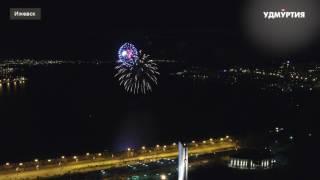 7 минут: празднование Дня Победы в Ижевске завершилось салютом