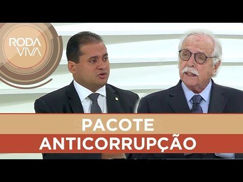 Weverton Moura e Modesto Carvalhosa debatem pacote anticorrupção