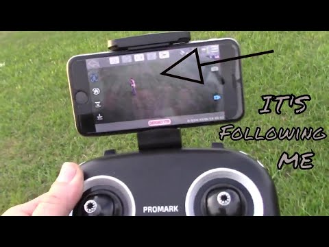 ProMark GPS Shadow Drone - Follow Me & Return Home Functions