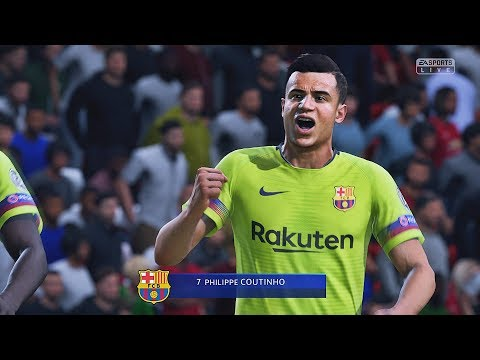 FIFA 19 - Manchester United Vs Barcelona | UEFA Champions League | HD PS4 PRO