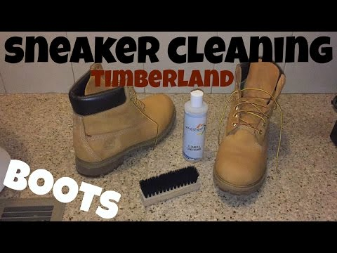 "Sneaker Cleaning for Timberland Boots + How to Clean Dirt and Stains Off Your Tims ""Easy Method"""