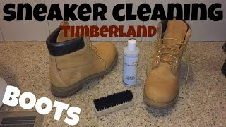 Sneaker Cleaning for Timberland Boots + How to Clean Dirt and Stains Off Your Tims Easy Method
