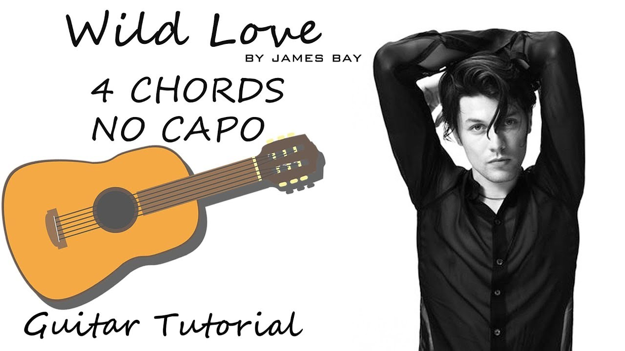 Wild Love James Bay Guitar Lesson Tutorial Chords How To Play