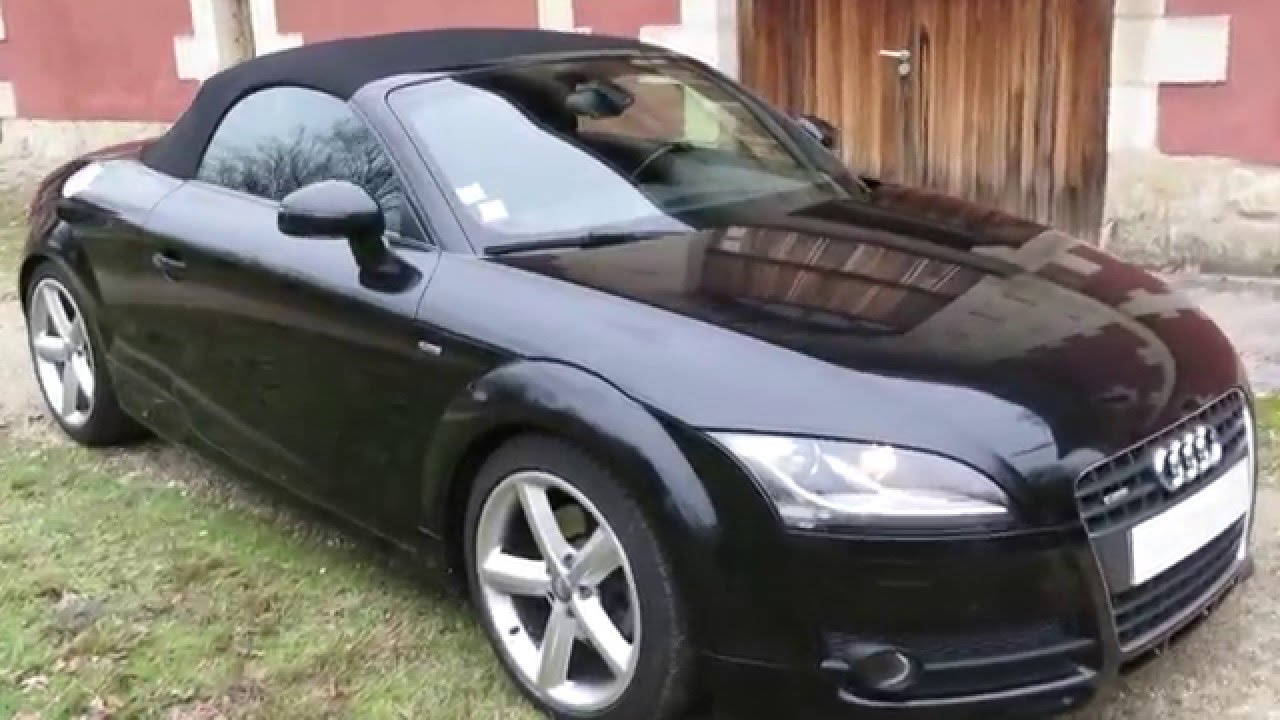 roadster audi tt 2 0 sline tfsi cabriolet s line mk2. Black Bedroom Furniture Sets. Home Design Ideas