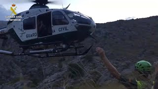 Rescatan a una pareja en el Torrent de Pareis mientras hacía barranquismo