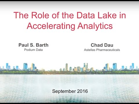 Astellas Pharmaceutical Presentation from Enterprise Dataversity 2016