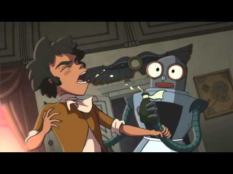 Приключенческий мультфильм  - Тайна Сухаревой башни - Наряд принцессы ночи (1 серия)
