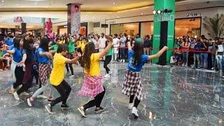 Flash mob Pahari NATI at Elante mall Chandigarh by Girls | Himachali Folk Dance 2017