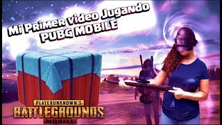 MI PRIMER VIDEO DE PUBG-RUMBO A CORONA V!!! PUBG MOBILE